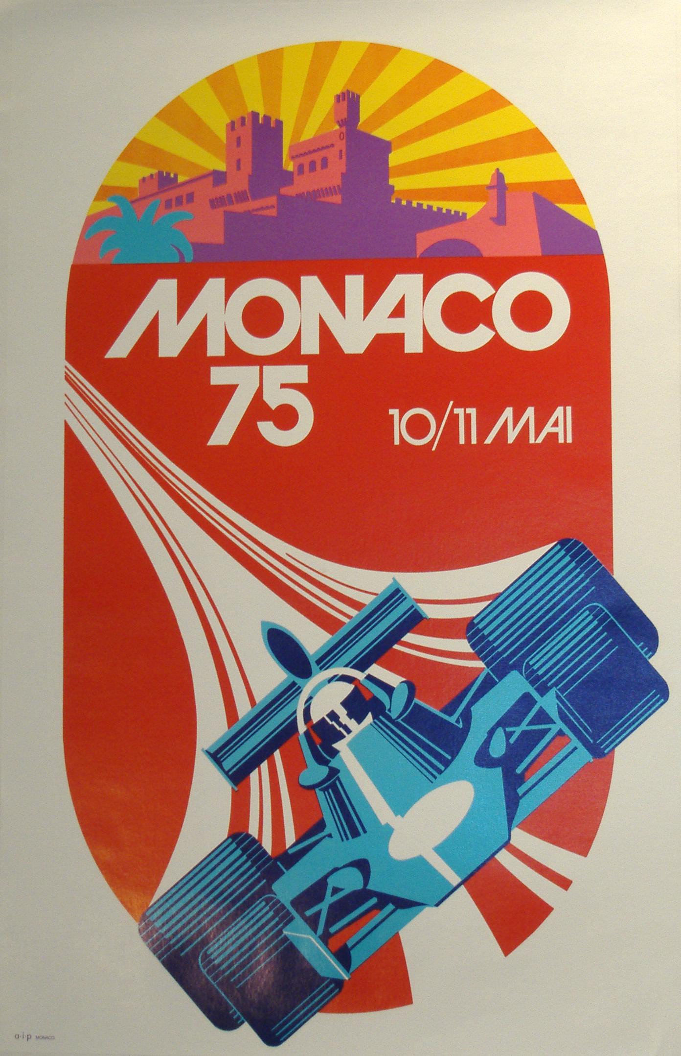 Image of Monaco Grand Prix 75 - WG00030