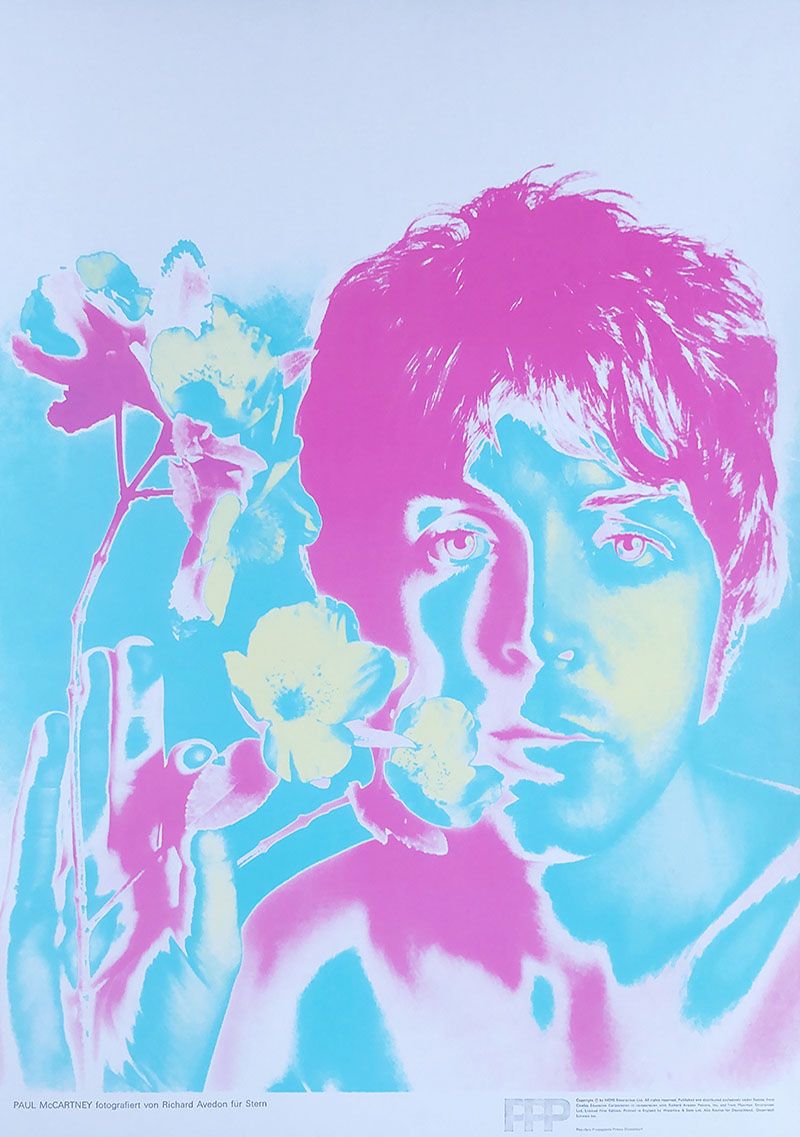 Image of Paul McCartney by Richard Avedon - WG00115