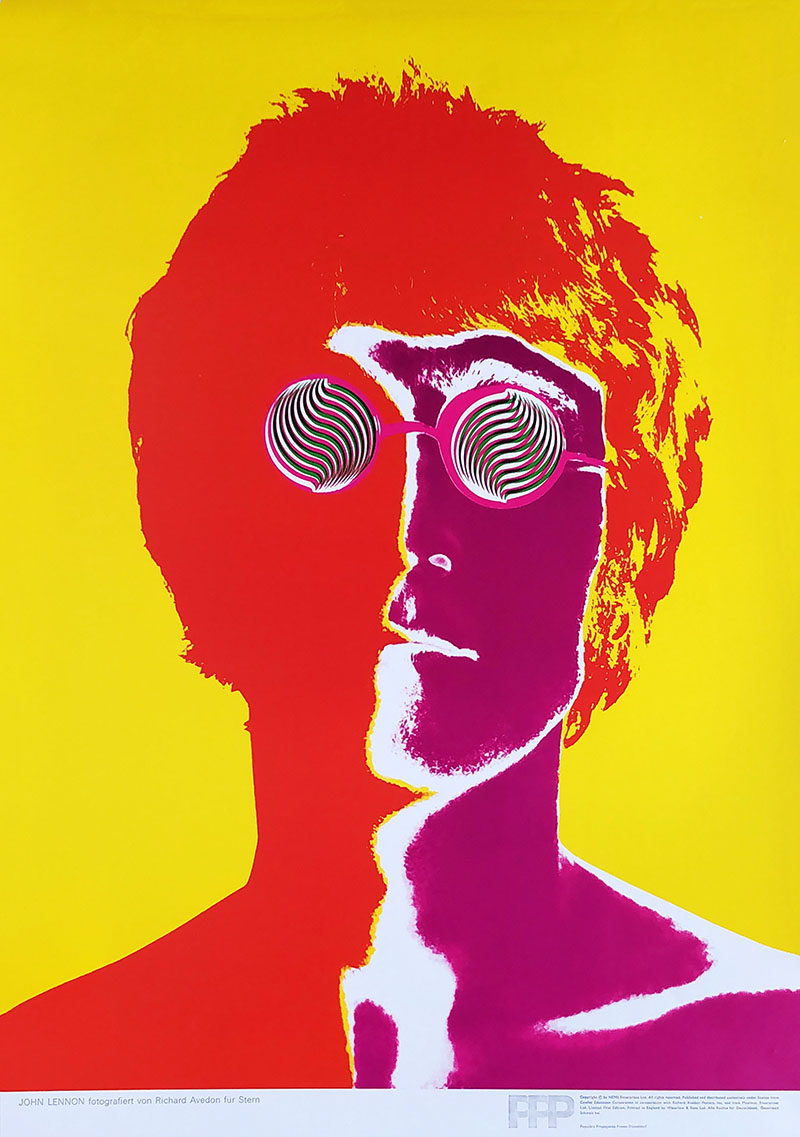 Image of John Lennon by Richard Avedon - WG00116
