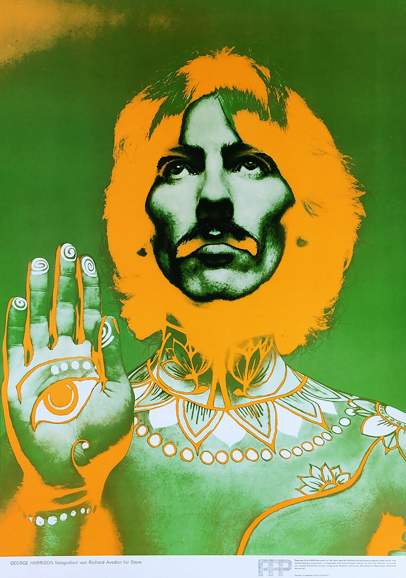 Image of George Harrison by Richard Avedon - WG00117