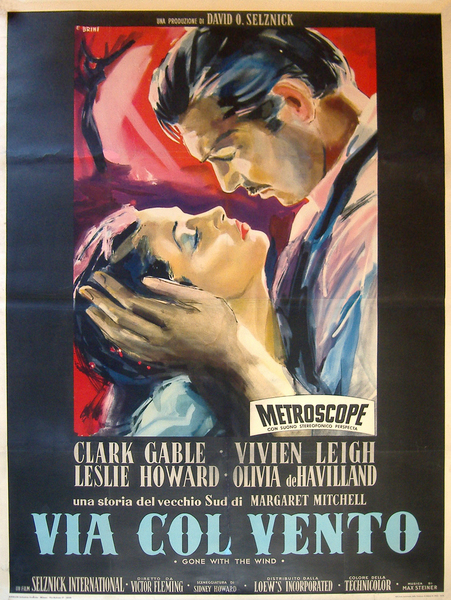 Image of Gone With The Wind (Italian) - WG00128