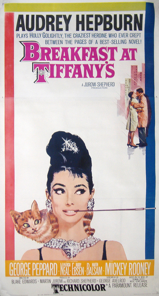 Image of Breakfast at Tiffany's (U.S. Three Sheet) - WG00141