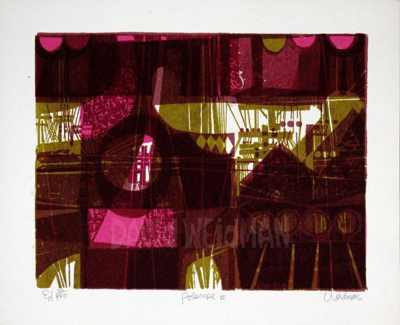 Image: Polescape II (Violet) - David Weidman – DW00032