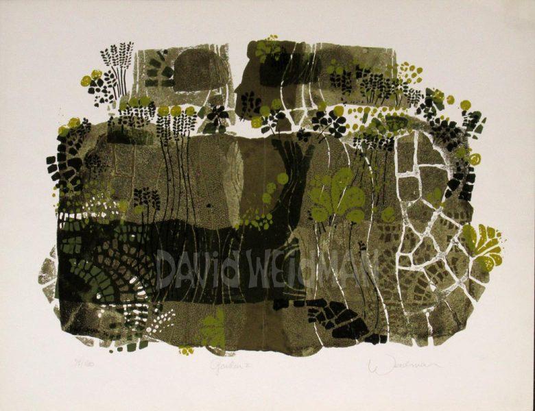 Image of Garden II (Grey/Yellow) - David Weidman - DW00037
