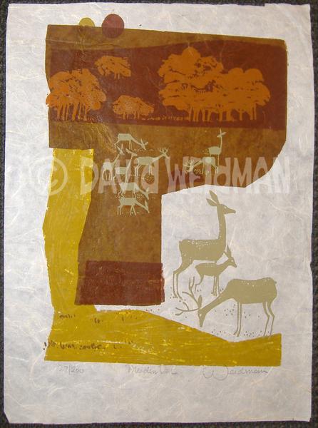 Image of Meadow Deer (Rice) - DW00042