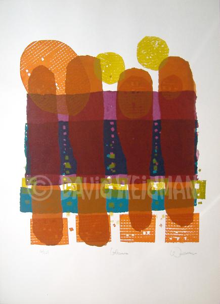 Image of Columns (Warm) - DW00049