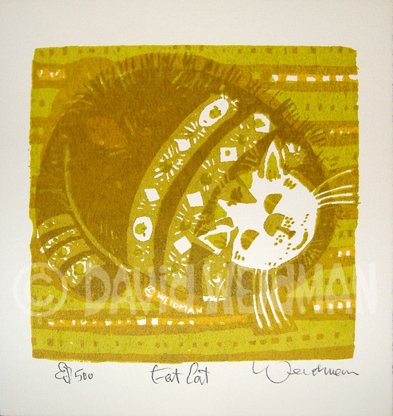 Image of Fat Cat (Gold) - DW00057