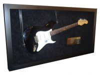 Image - Custom framed guitar signed by Dave Grohl