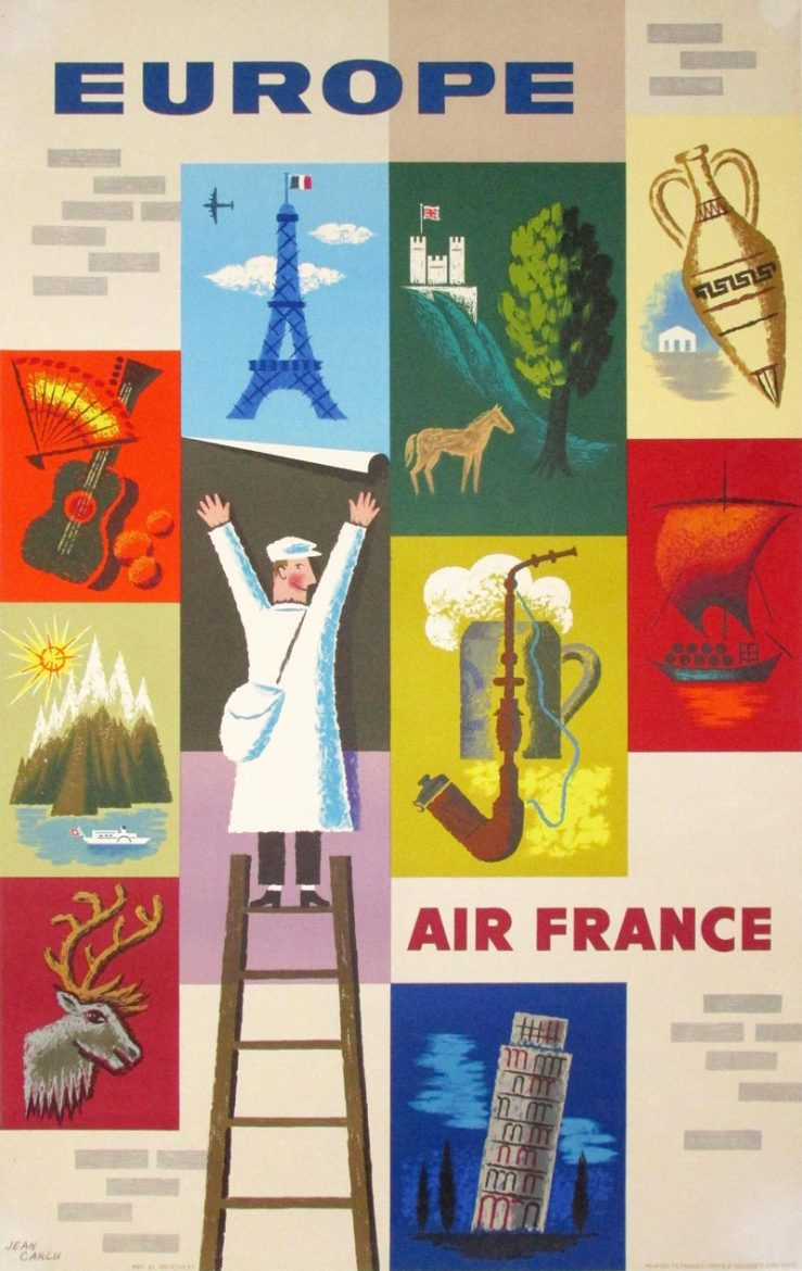 Image of Air France - Europe - GG00007