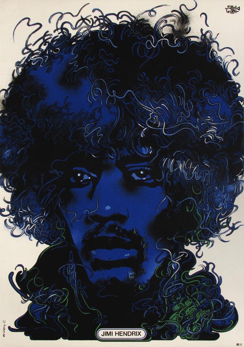 Image of Jimi Hendrix - Polish poster - GG00013
