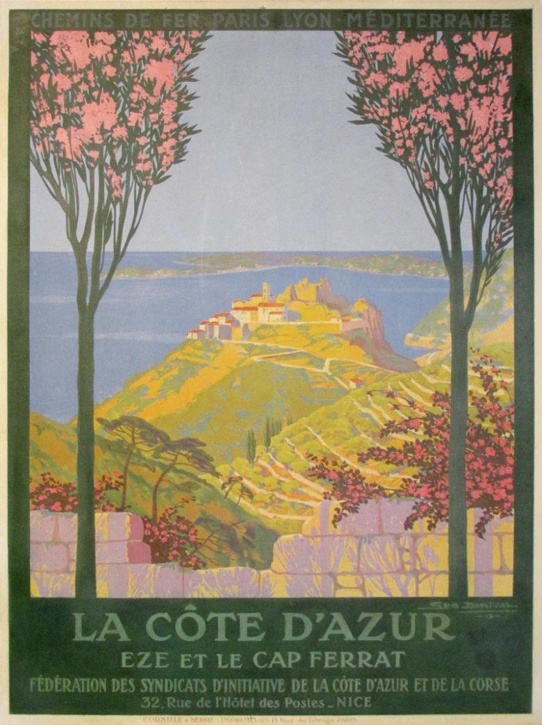 Image of La Cote D'Azur - LK00001