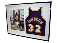 Image - Magic Johnson jersey display