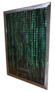 Image - The Matrix: Revolutions teaser poster framed in ground welded steel frame