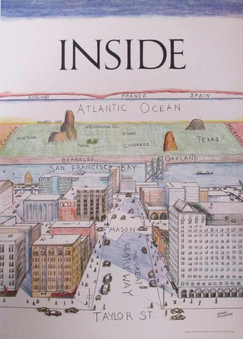 Image of Inside (San Francisco View of the World) - WG00038
