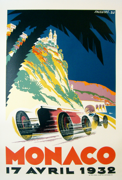 Image of Monaco Grand Prix 1932 (re-issue) - WG00192