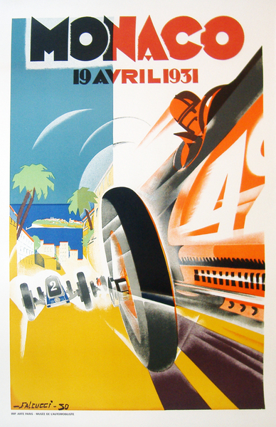Image of Monaco Grand Prix 1931 (re-issue) - WG00193