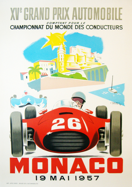Monaco Grand Prix 1957 (re-issue) - WG00194