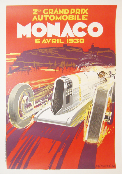 Monaco Grand Prix 1930 (re-issue) - WG00197