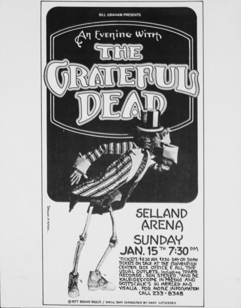 Image of The Grateful Dead - Selland Arena 1977 - WG00229