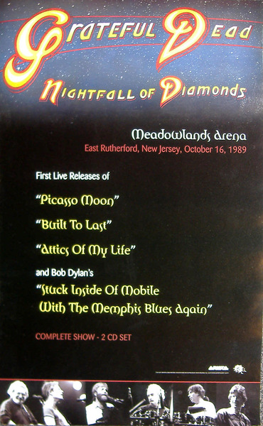 Image of Grateful Dead - Night Fall of Diamonds - Meadowlands (promo) - WG00230