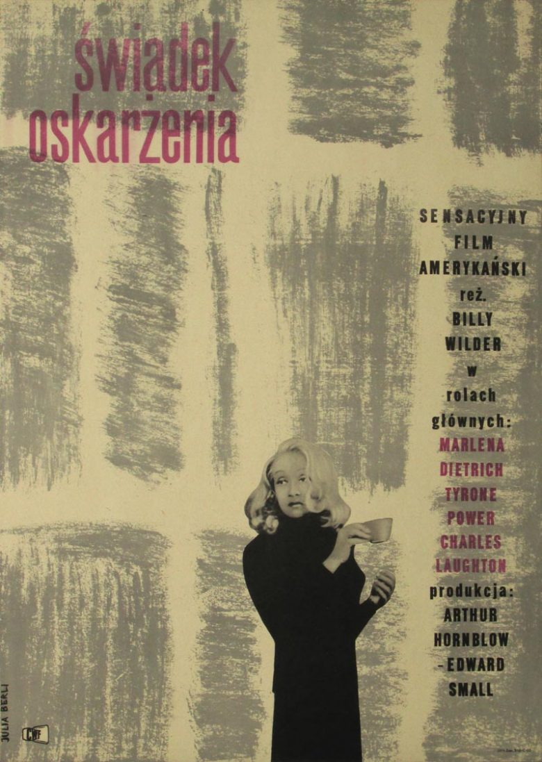 Image of Witness for the Prosecution - Polish poster - WG00248
