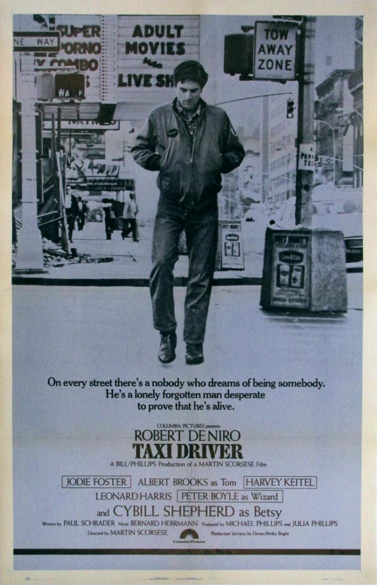 Image of Taxi Driver (International) - one sheet - WG00268