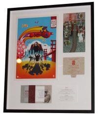 Image - Custom framing for Big Hero 6 memorabilia