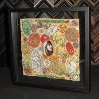 "Image - Two sided frame for original artwork forthe Joanna Newsom 2004 album ""The Milk-Eyed Mender"" (Front)"