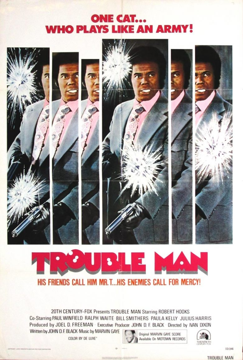 Image of Trouble Man - U.S. one sheet - JR00094