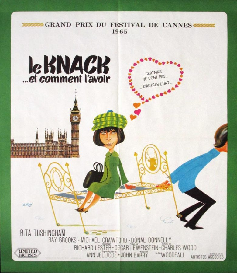 Image of The Knack... and How to Get It - French one sheet - MC00005