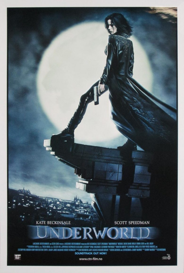 Image of Underworld - Norwegian one sheet - MH00002