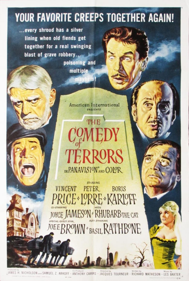 Image of Comedy of Terrors - U.S. one sheet - MM00008