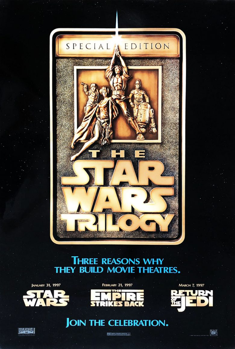 Image of Star Wars Trilogy (Special Edition) Teaser - U.S. one sheet - WG00275