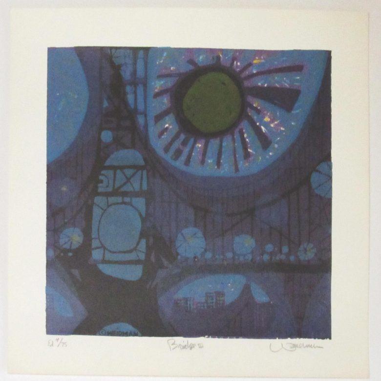 Bridge III (Blue) - DW00023