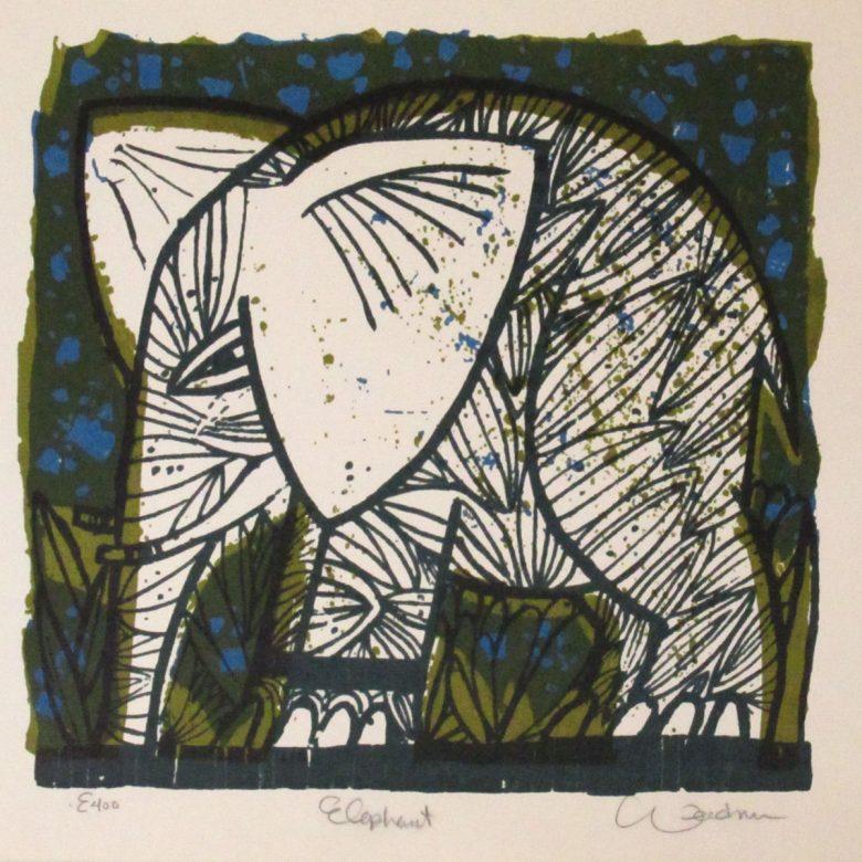 Elephant (Blue) - DW00107