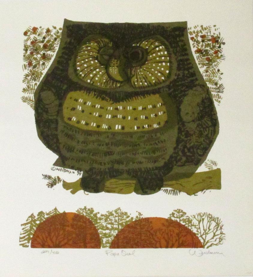 Papa Owl - DW00150