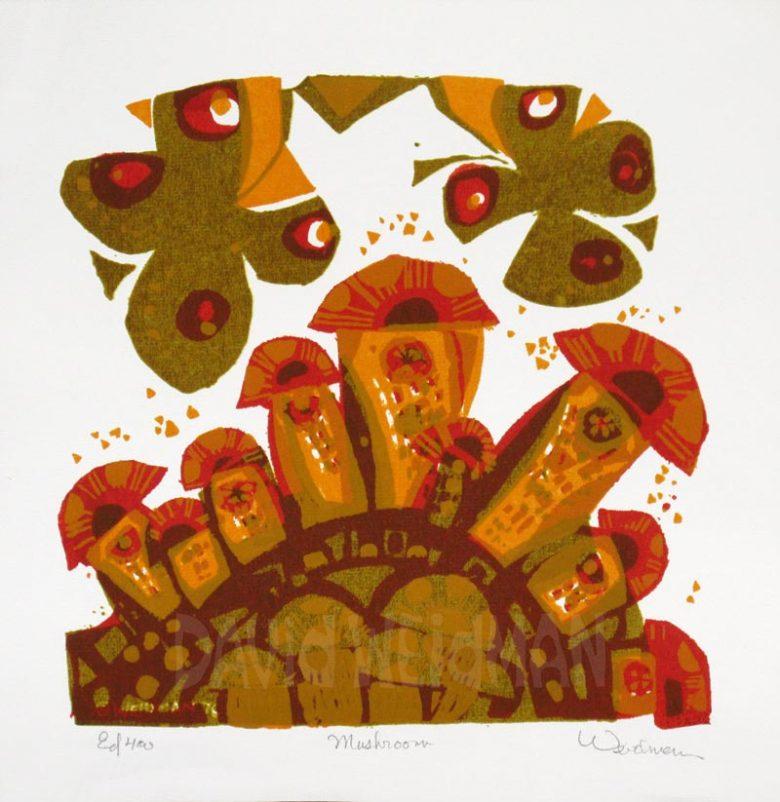 Image: Mushrooms - David Weidman - DW00180