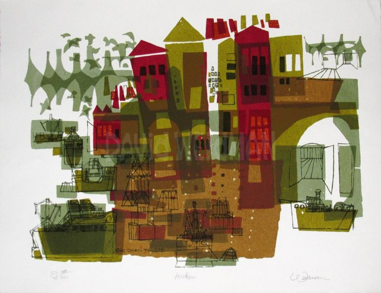 Image: Harbor (Rust) - David Weidman – DW00181