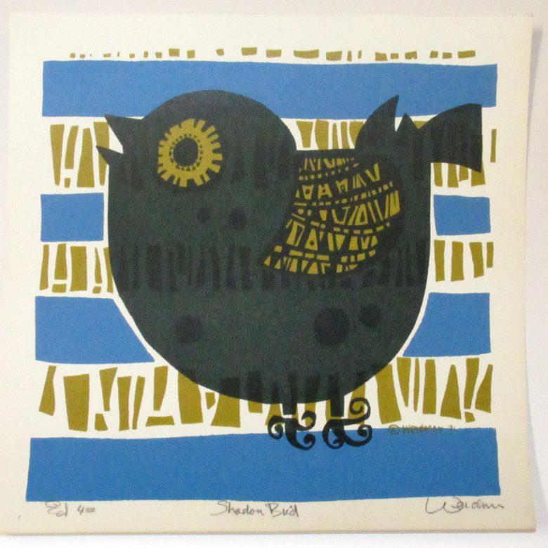 Shadow Bird (Blue) - DW00117