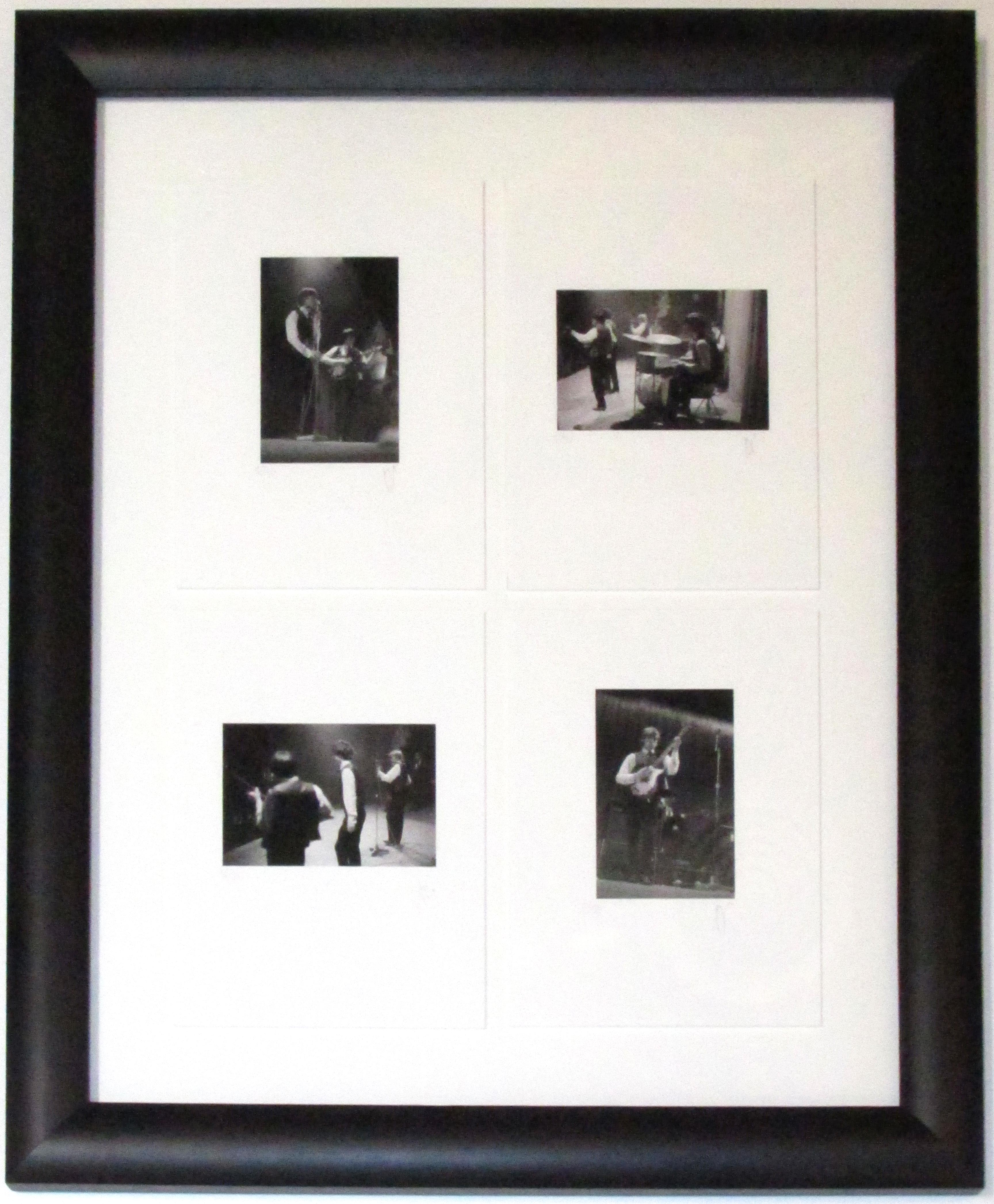 Rolling Stones - On Stage (Set of 4, Framed) - IFF0008