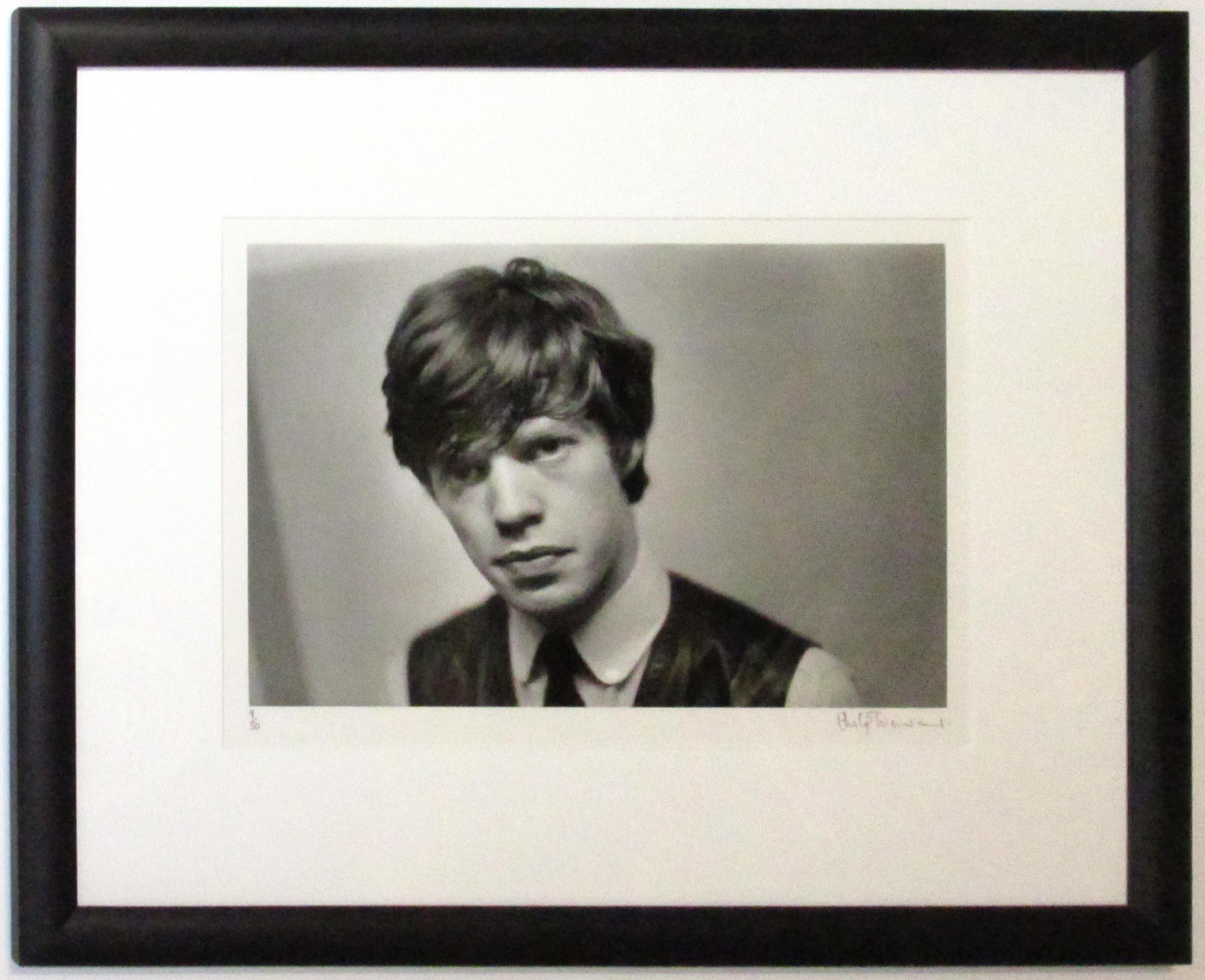 Rolling Stones - Mick in Vest (Framed) - IFF0009