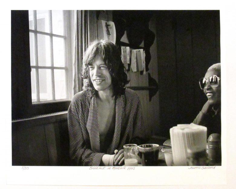 Breakfast In Montauk 1975 (Mick Jagger and Eva Cherry) - JG00003
