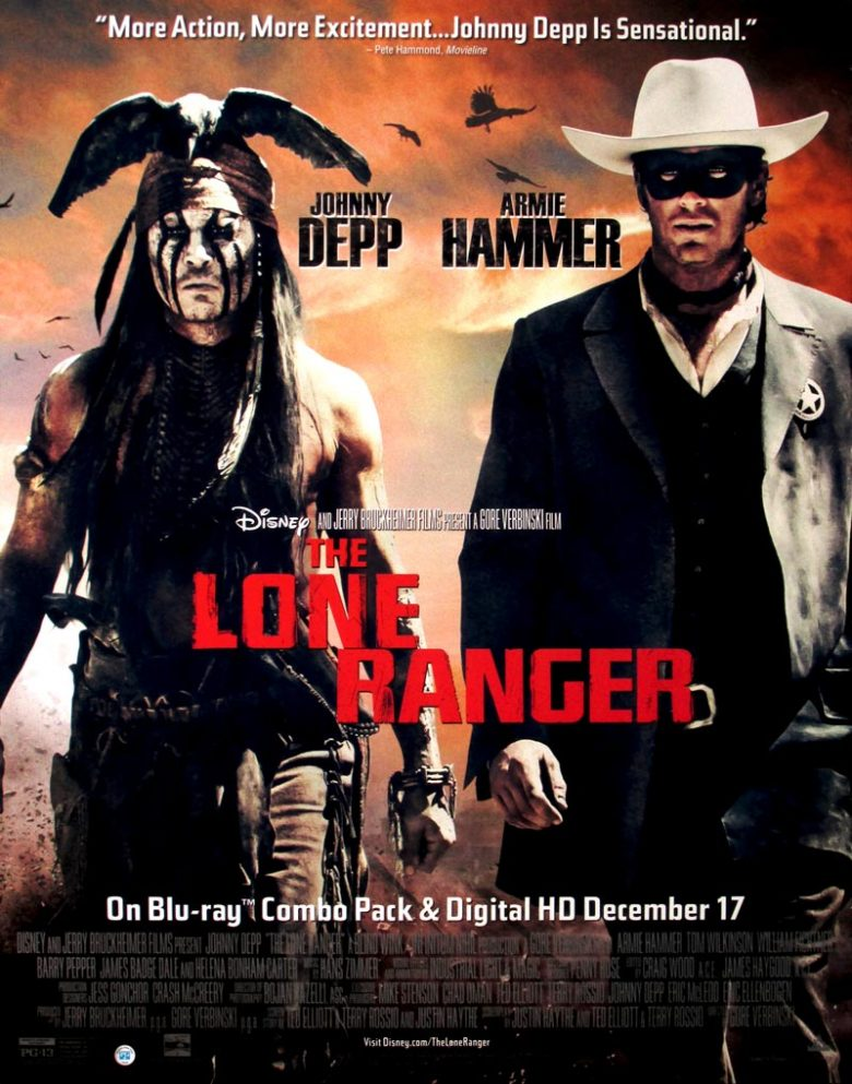 Image of The Lone Ranger (2013) - U.S. video poster - WG00389