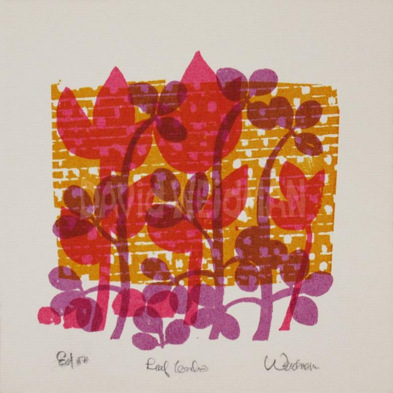 Image of Leaf Combo (Pink) - David Weidman - DW00171