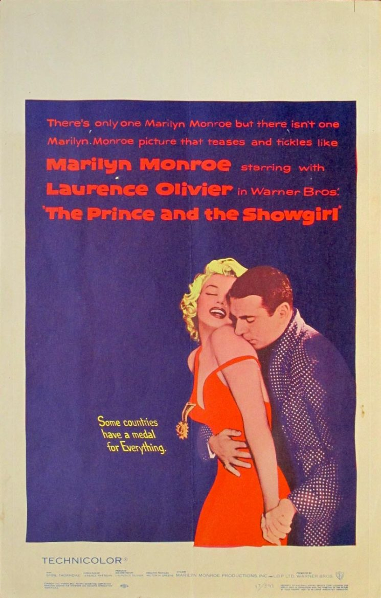 Image of The Prince and The Showgirl - U.S. window card - XX00009