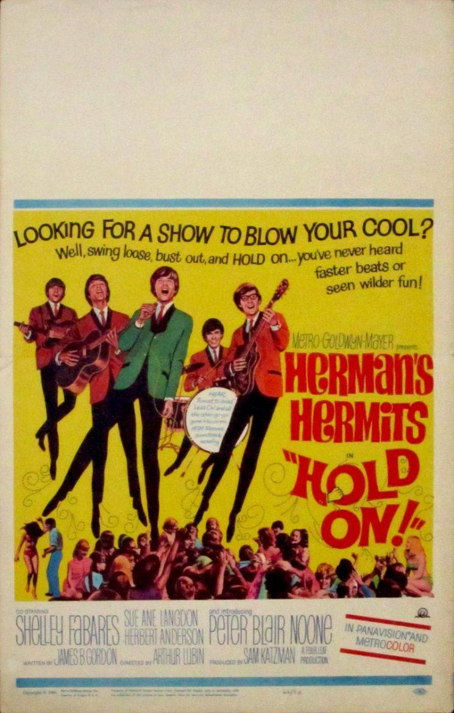 Image of Hold On - Herman's Hermits - U.S. window card - JR00111