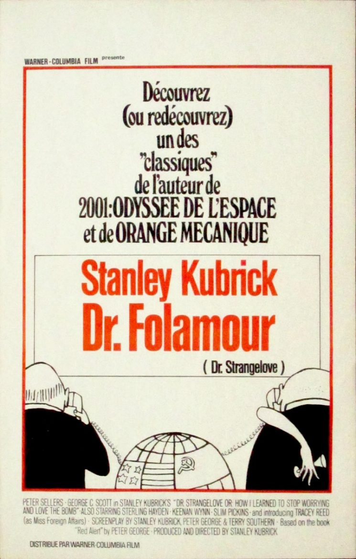Image of Dr. Strangelove - Belgian poster - MC00015