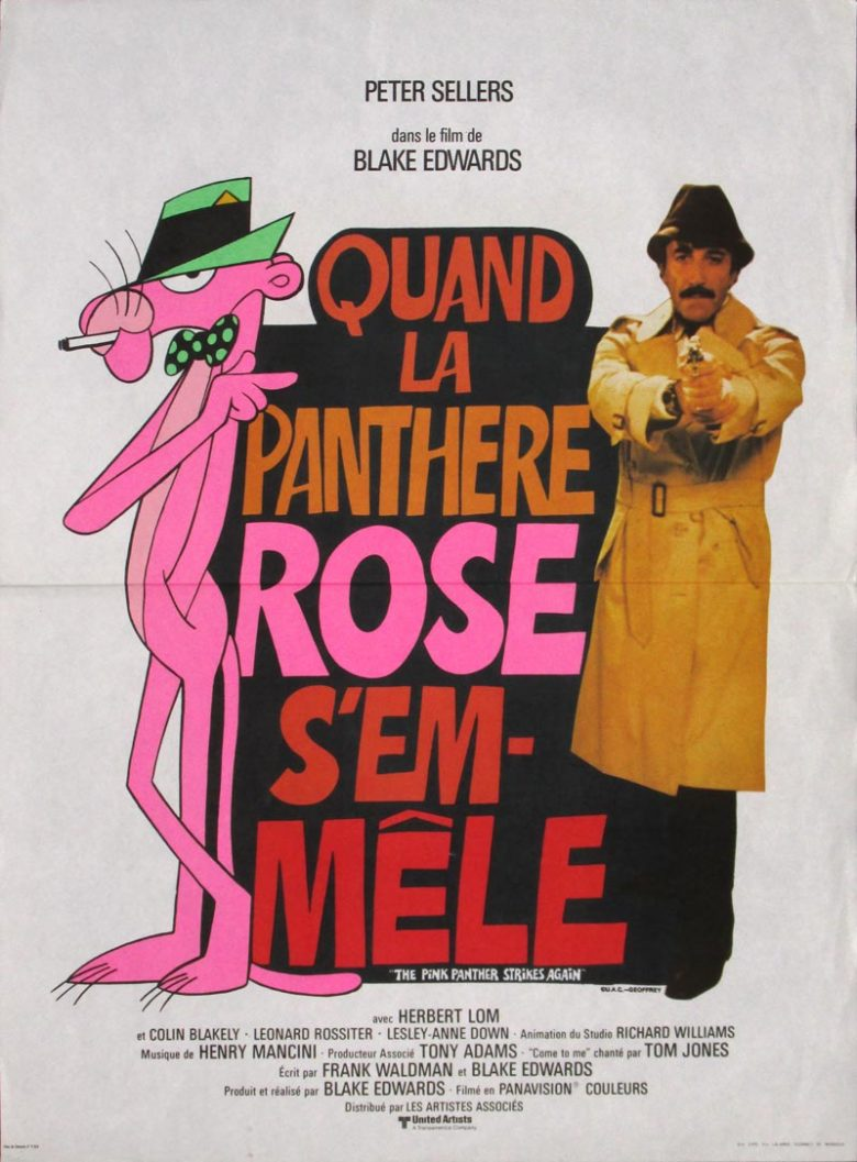 Image of The Pink Panther Strikes Again - French mini poster - MC00016