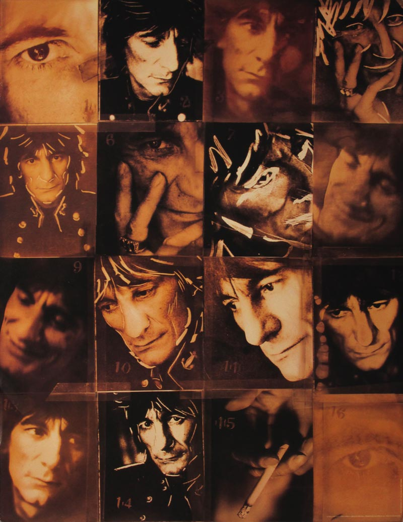 Image of Ronnie Wood - poster - WG00281