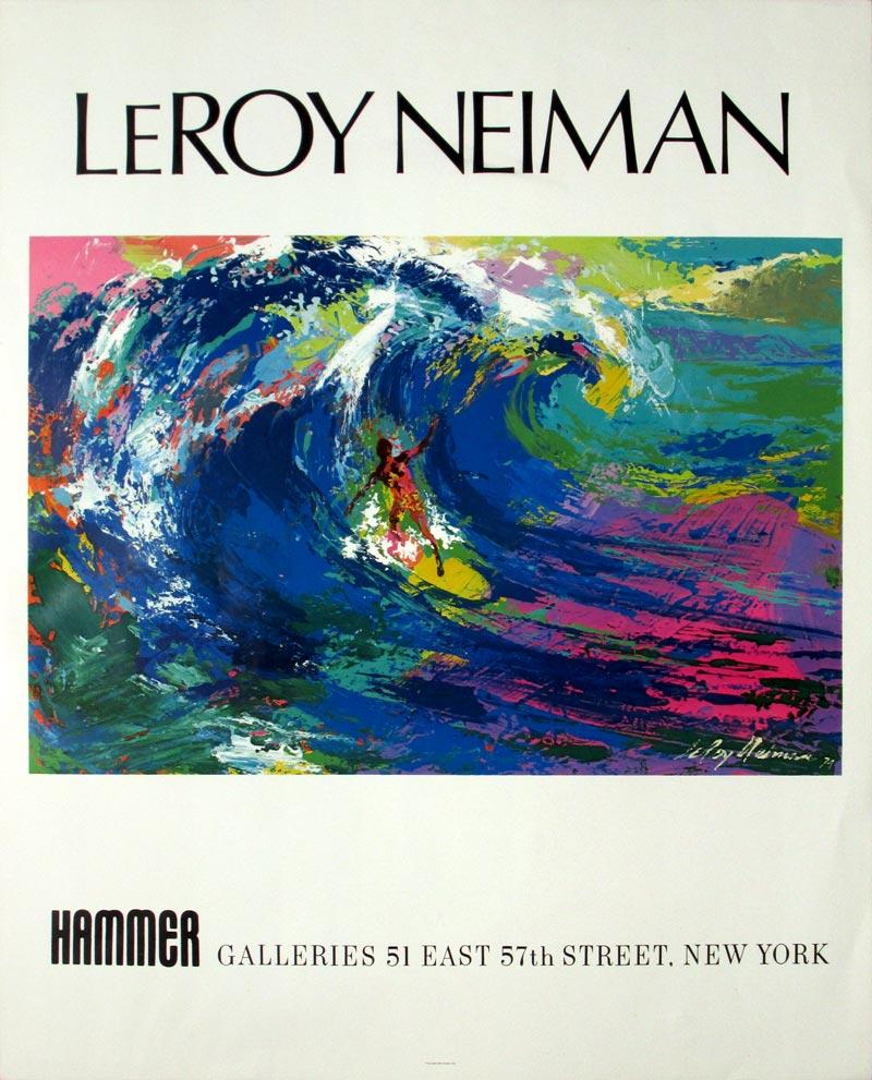 Image of LeRoy Neiman - Hammer Gallery - 1979 - poster - WG00392